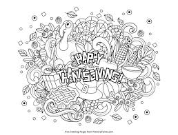 217 Thanksgiving Coloring Pages For Kids Coloring Page