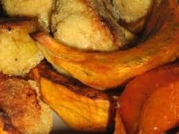 cuisiner le potimarron au four potimarron grillé au four et ses boulettes de viande recette ptitchef