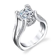 cz engagement ring cz engagement ring 4201 high end cubic zirconia jewelry in 14k