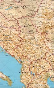 Political Map Of Greece by Maps Of Serbia Detailed Map Of Serbia In English Tourist Map