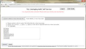 marc self service update u2013 library it news