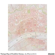 Map Of Frankfurt Germany vintage map of frankfurt germany 1862 fleece blanket frankfurt