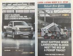 ford commercial actor chevy escalates silverado advertising battle with ford f 150