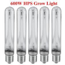 600 watt grow light bulb 5x horticulture 600w 600 watt hps high pressure sodium grow light