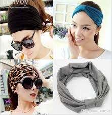 stretch headbands womens elastic wide stretch headbands hat biker
