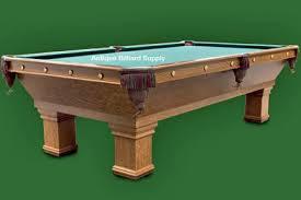 brunswick monarch pool table antique billiard supply classic brunswick pool table