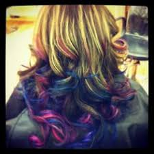 diy color chalking hair soft pastels rubbed on to the hair make a
