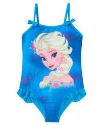 film frozen intero bellissimo costume da bagno intero bambina mare piscina disney