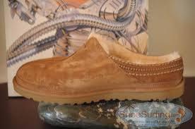 ugg neuman slippers on sale ugg australia neuman chestnut mens shoes sheepskinshoes com