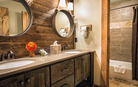 Log Home Bathroom Ideas Colors 30 Examples Of The Perfect Reclaimed Wood Vanity