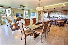 kitchen and dining room layout ideas interior tips dining set and drum chandelier with tile flooring