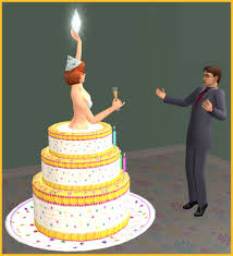 wedding cake in the sims 4 sims 3 birthday cake custom content image inspiration of cake