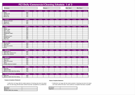 complete cleaning list template housekeeping printable set house
