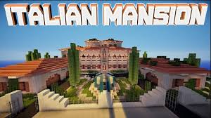 Italian Style Houses by Minecraft Pe Italian Mansion Download Youtube