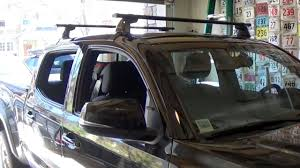 Toyota Tacoma Double Cab Roof Rack by Toyota Tacoma Roof Rack Installation Youtube