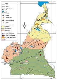Map Of Cameroon Mapping Of Natural Hazards In Cameroon Pdf Download Available