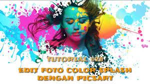 cara membuat watercolor abstrak dengan photoshop 28 edit foto keren color splash di android picsart editing