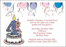 invitation birthday party card choice image invitation design ideas
