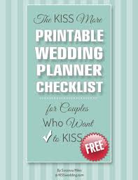 simple wedding planning wedding checklists the more free printable wedding planner