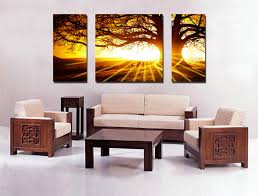 how to hang canvas art without frame sunset modern canvas art wall decor landscape canvas prints wall