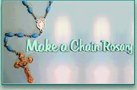 how to make a rosary rosary makers guide make a chain rosary
