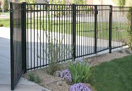 steel ornamental fence residential fence swimming pools fence