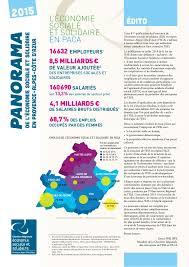 Chambre Ré Ionale Des Comptes Paca Panorama Ess Paca 2015