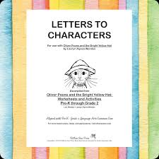 letter writing activities pre k through grade 2