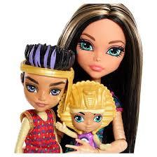 monster cleo family 3pk dolls target