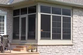 Patio Enclosure Kits Walls Only Sunrooms U0026 Screen Room Additions Upstate Ny Comfort Windows