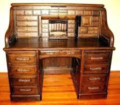 solid oak roll top desk wood roll top desk thesocialvibe co