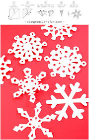 templates for snowflakes how to make paper snowflakes pattern templates easy peasy and fun