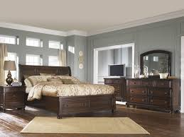 bedroom relax in the soothing space with ashley sleigh bed