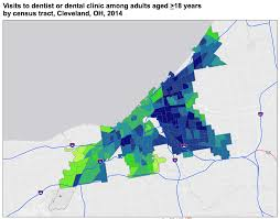 Cleveland Ohio Map by Cdc Releases Interactive Neighborhood Level Health Data For 500