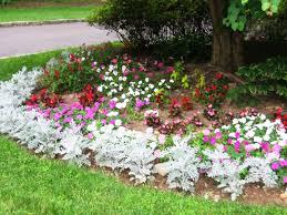 outdoor flowers in yard ideas house flower beds garden