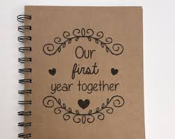 personalized anniversary gifts year together etsy