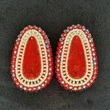 278 best beaded earrings ideas images on pinterest beaded