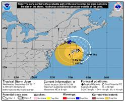 New England Weather Map by Jose Continues To Cloud New England U0027s Forecast The Boston Globe