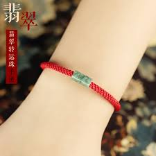 simple rope bracelet images Usd 107 24 open the oil green emerald red rope bracelet braided jpg