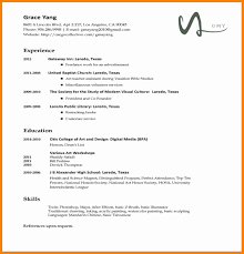 Resume For National Honor Society Types Of Resumes Template