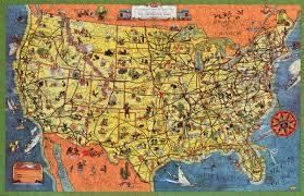 United States Map Puzzles by The Greyhound Lines Map Of The United States Wooden Jigsaw