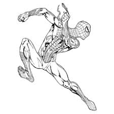 33 free printable spiderman coloring pages
