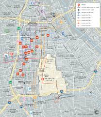 Map Of Downtown Los Angeles La Fashion District