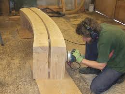 woodwork cedar curved bench plans pdf plans planters pinterest
