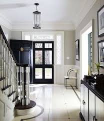 Entryway Color Schemes Classic White Foyer Benjamin Moore U0027china White U0027 Swedish