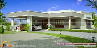ocean view house plans 5 single story flat roof house designs