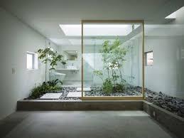japanisches badezimmer minimalistisches japanisches badezimmer mit zimmerpflanzen ideen