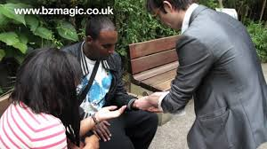 voodoo magic with benz the magician in the winter gardens