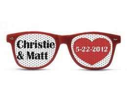 personalized sunglasses wedding favors party glasses by promovizion