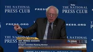 senator bernie sanders i vt remarks national press club mar 9